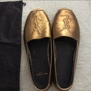 Yves Saint Laurent Shoes Sharing Ysl Patent Tribute